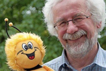 Prof. Tautz und Biene Maja